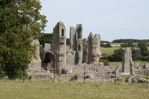 Remains of St Mary's Priory (Benedictine)