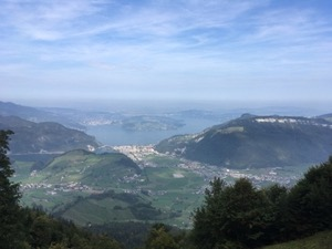 View over Lake Lucerne.