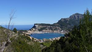 View over Port de Soller